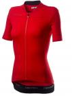Cyklistický dres dámský Castelli Anima 3 red black 2020