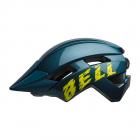 Dětská cyklistická helma Bell Sidetrack II youth blue/Hi-Viz 2020