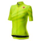 Cyklistický dres dámský Castelli Sublime yellow fluo 2020