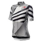 Cyklistický dres dámský Castelli Sublime white black 2020