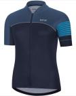 Cyklistický dres dámský Gore C5 Wmn jersey orbit blue/ deep water blue 2020