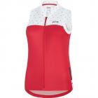 Cyklistický dres dámský bez rukávů Gore C5 Wmn sleeveless jersey hibiscus pink white 2020