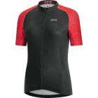 Cyklistický dres dámský Gore C3 Wmn Ondasia jersey black/hibiscus pink 2020
