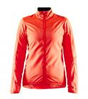Cyklistická bunda dámská Craft essence llight wind oranžová 1908792-825000 2020
