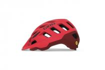 Cyklistická helma Giro Radix matte bright red /dark red 2020