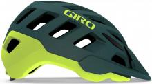 Cyklistická helma Giro Radix Matte true spruce/citron 2020