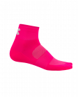 Cyklistické ponožky Kalas Ride on Z růžové