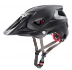 Cyklistická helma Uvex quatro integrale black mat/shiny 2021