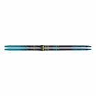 Běžecké lyže Fischer Twinskin performance medium modré + vázání control step 2020/21