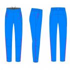 Běžecké kalhoty dámské KV+ Karina 20V121.1 blue 2020/21