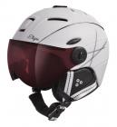 Lyžařská helma Etape Grace Pro bílá/černá mat 2020/21