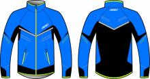 Běžecká bunda KV+ Premium Jacket unisex blue/black/ime 9V145-21 2020/21