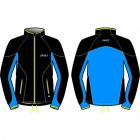 Běžecká bunda KV+ Lahti  Black/blue 21V116-12 2020/21