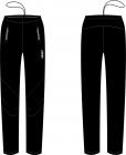 Běžecké kalhoty KV+ Lahti pants black 21V117-1 2020/21