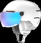 Lyžařská helma Atomic Savor visor stereo white heath 2020/21