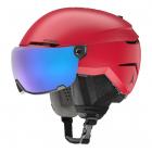 Lyžařská helma Atomic Savor visor stereo red 2020/21