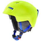 Dětská sjezdová helma Uvex Manic Pro neon/yellow 2020/21