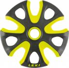 Košíčky na sjezdové hole  Leki Big Mountain Basket, neon yellow black 95mm 2020/21
