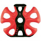 Košíčky na skialpové hole Leki Big Mountain binding Basket 2K 95 mm black/neon red 2020/21