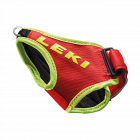 Poutka na běžecké hole Leki Strap Shark red/neon yellow 2020/21
