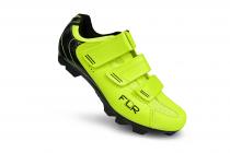 Tretry - boty na MTB kolo FLR F55 Neon yellow 2021