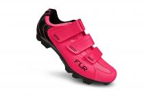 Tretry - boty na MTB kolo FLX F55 fluo pink 2021