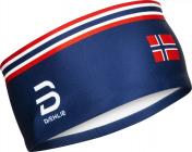Čelenka Bjorn Daehlie  Mesh 332803-31648 modrá/norský dekor