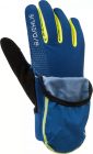 Běžecké rukavice BJ Glove rush 333031-25300 modro-žlutá fluo 2020/21
