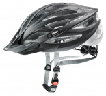 Cyklistická helma Uvex Oversize black mat / silver 2021