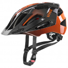 Cyklistická helma Uvex Quatro titan/orange 2021