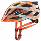 Cyklistická helma Uvex Air wing CC grey/orange mat 2021