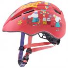 Dětská cyklistická helma Uvex Kid 2 CC Corall mouse mat 2021