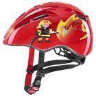 Dětská cyklistická helma Uvex Kid 2 Red fireman 2021