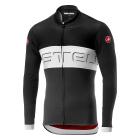 Cyklistický dres Castelli Prologo VI black/ivory/dark gray 2021