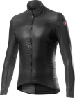 Cyklistická bunda Castelli Aria shell jacket dark grey 2021