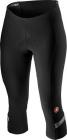 Cyklistické kalhoty dámské 3/4 Castelli Velocissima 2 Knickers black  dark gray 2021