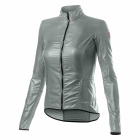 Cyklistická bunda Castelli Aria shell w jacket silver grey 2021
