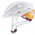 Dětská cyklistická helma Uvex True CC  white - peach mat 2021