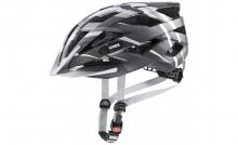 Cyklistická helma Uvex Air wing CC black/silver mat 2021