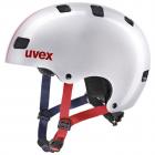 Dětská cyklistická helma Uvex Kid 3 race silver 2021