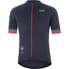 Cyklistický dres Gore Fabian Cancellara Jersey mens orbit bllue/red 2021