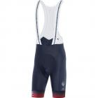 Cyklistické kalhoty Gore Wear Cancellara Bib shorts+ orbit blue/red 2021