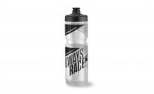 Cyklistická lahev Superior BIG.VALVE.BOTTLE 750 transparent/black