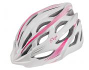 Cyklistická helma Etape Vesper bílo-růžová 2021