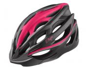 Cyklistická helma Etape Venus černo-růžová 2021
