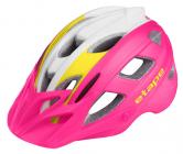 Dětská cyklistická helma Etape Joker růžovo/bílá 2021