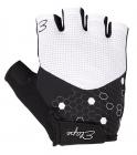 Dámské cyklistické rukavice Etape Betty bílo-černé