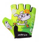 Dětské cyklistické rukavice Etape Tiny  zelené