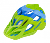 Dětská cyklistická helma Etape Hero modrá/zelená mat 2021