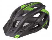 Cyklistická helma Etape Escape černo/zelená 2021